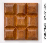 leather upholstery. detail of... | Shutterstock . vector #1263540328