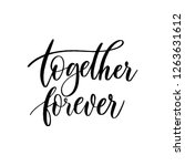 Together  Forever   Vector ...