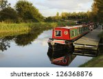 canal barges on the union canal ...