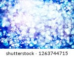 abstract glitter lights and... | Shutterstock . vector #1263744715