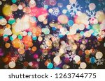 abstract festive background.... | Shutterstock . vector #1263744775