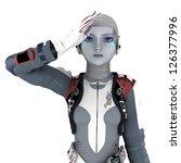 robot | Shutterstock . vector #126377996