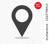 icon navigate vector. simple... | Shutterstock .eps vector #1263798415
