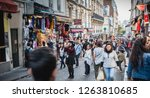 paris  france   october 6  2018 ... | Shutterstock . vector #1263810685