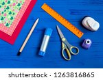 making greeting card for... | Shutterstock . vector #1263816865