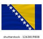 1 march  bosnia and herzegovina ... | Shutterstock .eps vector #1263819808