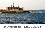 kronborg castle in helsingor ... | Shutterstock . vector #1263866785