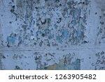 old peeling paint wall | Shutterstock . vector #1263905482