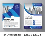 business abstract vector... | Shutterstock .eps vector #1263912175