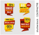 happy boxing day sale design... | Shutterstock .eps vector #1263946798