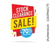 sale and special offer tag ... | Shutterstock .eps vector #1263966175