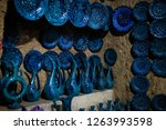 turkish traditional ceramic... | Shutterstock . vector #1263993598
