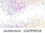 light multicolor  rainbow... | Shutterstock .eps vector #1263998518