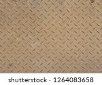 perforated metal texture | Shutterstock . vector #1264083658