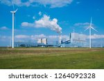 wind energy holland | Shutterstock . vector #1264092328