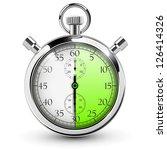 30 seconds stop watch. | Shutterstock .eps vector #126414326