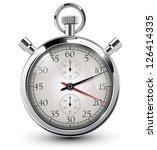 stop watch  vector illustration | Shutterstock .eps vector #126414335