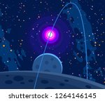 2d illustration. cartoon draw...   Shutterstock . vector #1264146145