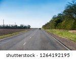 road in the desert and sunset | Shutterstock . vector #1264192195