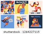 international women's day. we... | Shutterstock .eps vector #1264227115