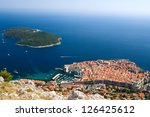 The Historic City Of Dubrovnik...