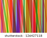 Colorful Line Background...
