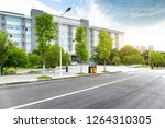 the teaching building on the... | Shutterstock . vector #1264310305