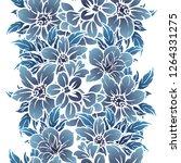 flower print. elegance seamless ...   Shutterstock . vector #1264331275