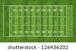 american football field | Shutterstock . vector #126436202