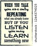 inspirational motivation quote. ... | Shutterstock .eps vector #1264374025