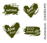 doodle logos. vector...   Shutterstock .eps vector #1264381495