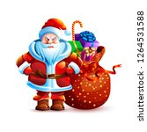 vector illustration isolated... | Shutterstock .eps vector #1264531588