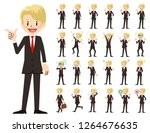 it is a character set of a... | Shutterstock .eps vector #1264676635