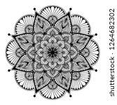 mandalas for coloring  book.... | Shutterstock .eps vector #1264682302