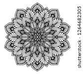 mandalas for coloring  book.... | Shutterstock .eps vector #1264682305