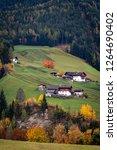 funes valley  dolomites alps....   Shutterstock . vector #1264690402