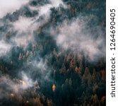 funes valley  dolomites alps....   Shutterstock . vector #1264690405