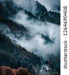 funes valley  dolomites alps....   Shutterstock . vector #1264690408