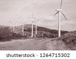 wind turbine  galicia  spain in ...