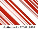 christmas candle  lollipop...   Shutterstock .eps vector #1264717828
