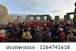stonehenge  uk   december 22 ... | Shutterstock . vector #1264741618