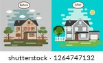 House Before And After Repair....