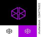 violet box logo. online  shop...