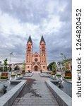 nyiregyh za  hungary   may 26 ... | Shutterstock . vector #1264820452