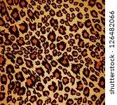 seamless leopard background | Shutterstock . vector #126482066