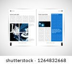 graphics brochures design... | Shutterstock .eps vector #1264832668
