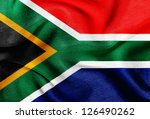 fabric texture of the flag of... | Shutterstock . vector #126490262