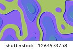 background in paper style.... | Shutterstock . vector #1264973758