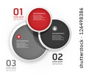 modern design circle template   ... | Shutterstock .eps vector #126498386