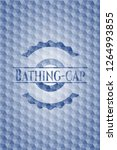 bathing cap blue emblem with... | Shutterstock .eps vector #1264993855